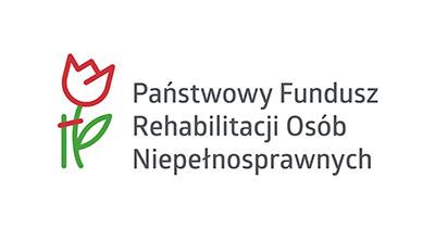 Obrazek przedstawiający logo Państwowego Funduszu Rehabilitacji Osób Niepełnosprawnych